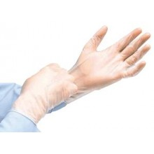 Exam Glove Large, Powder-Free N/S, Vinyl, Latex-Free, Ambidextrous Cuff, InstaGuard